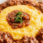 Goulash with polenta