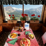 Tables with a view of Cortina