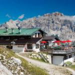 Pomedes Mountain hut