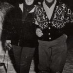 Bibi Ghedina and his wife